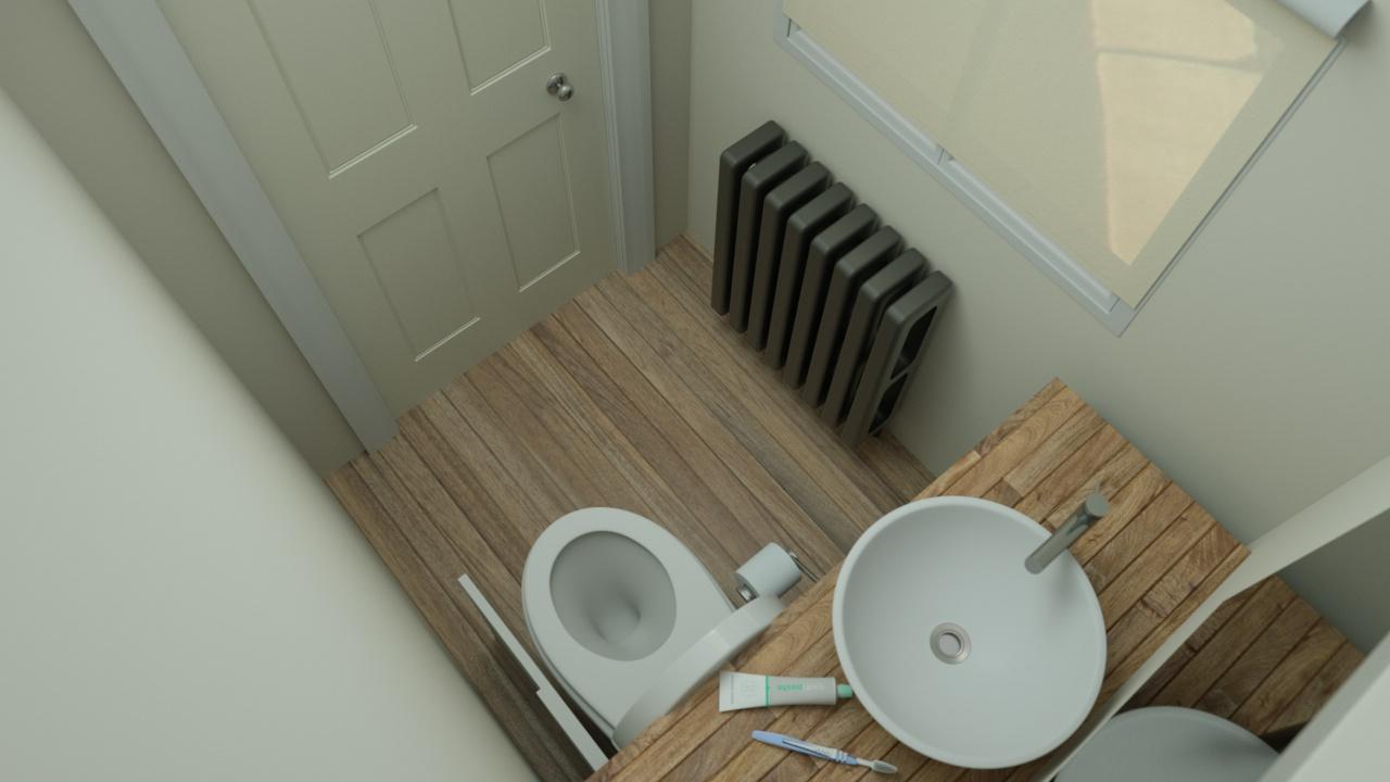 hidealoo standalone extended open door bathroom door shut