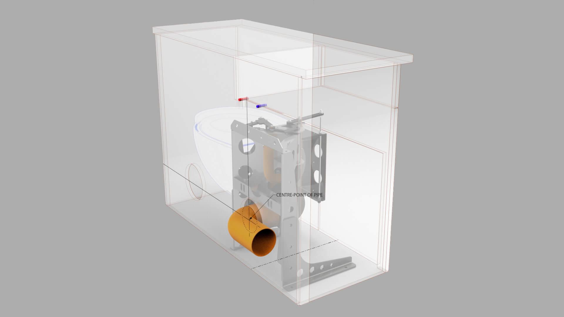 hidealoo cabinet rear waste exit retractable hidden toilet 1920 x 1080
